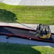 Heavy Equipment Loading Ramps