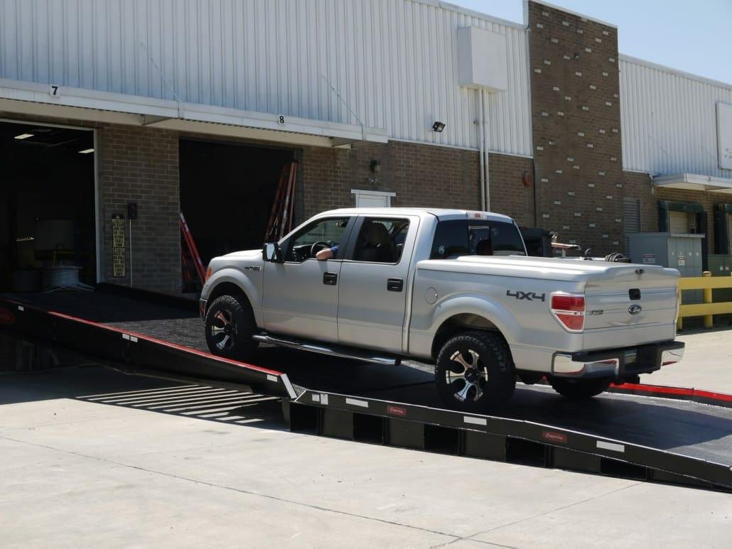 Warehouse Loading Dock Ramp