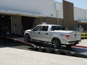 Truck Ramp for Loading Docks