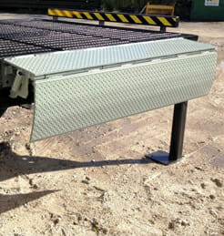 edge of dock leveler for printing and publishing