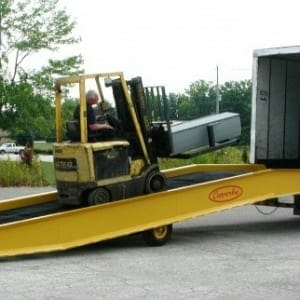 steel mobile yard ramps