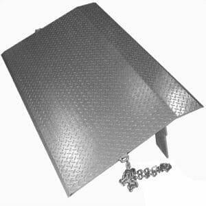 Copperloy's steel dock plate