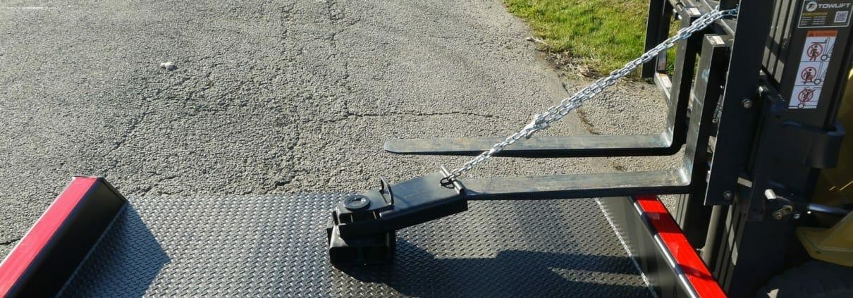 Yard ramp manueverability