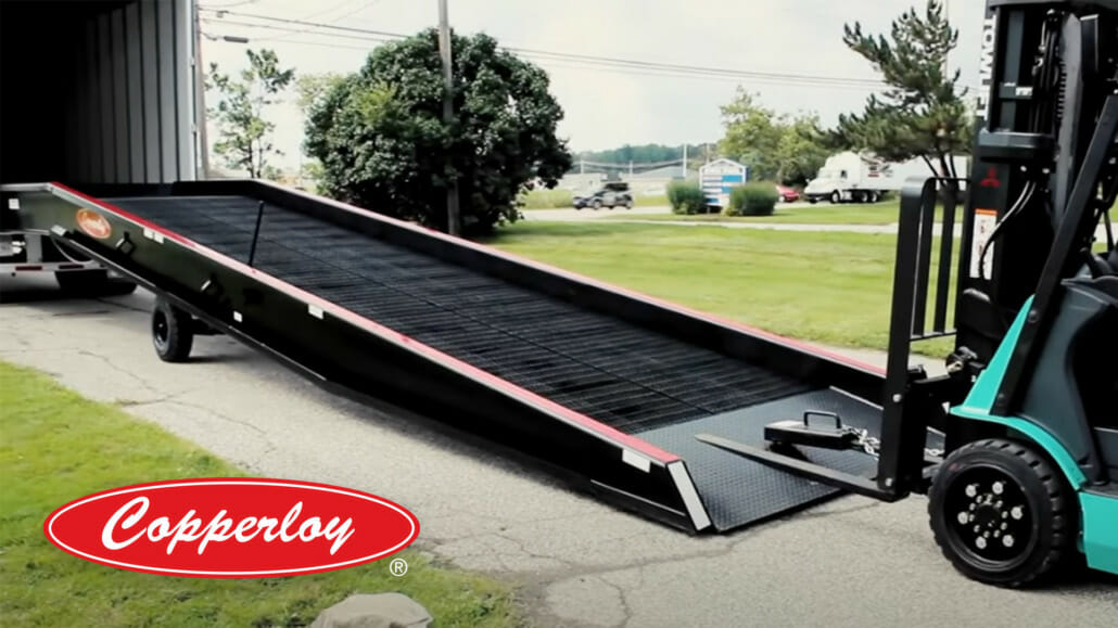 steel yard ramp manufacturers by copperloy