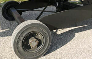 image of yard ramp tires - solid pneumatic