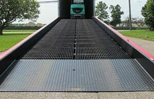 yard ramp low end plate