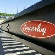 Sideview of Copperloy Hydraulic Yard Ramp
