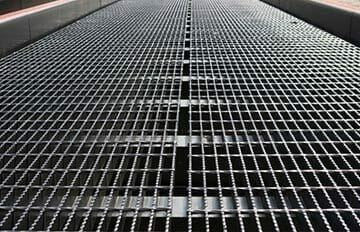yard ramp for the steel industry
